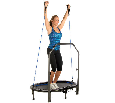 Stamina InTone Oval Jogger Trampoline and DVD