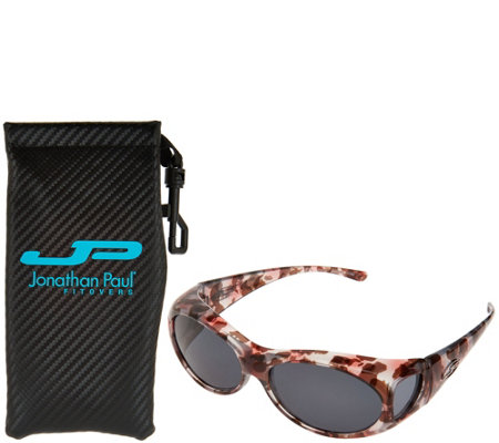 Jonathan Paul Classic Fitover Sunglasses with PolarVue Lenses and Case