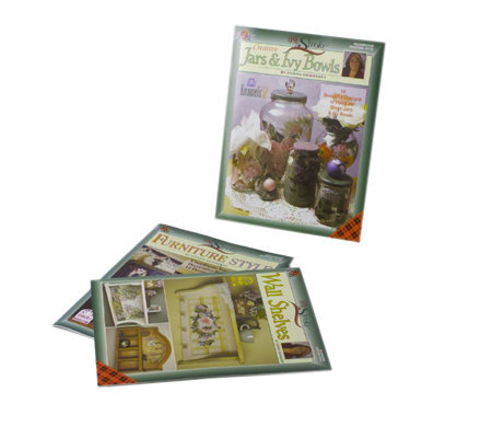 Donna Dewberry One Stroke Painting On Surfaces Set Of 3 Books Qvc Com