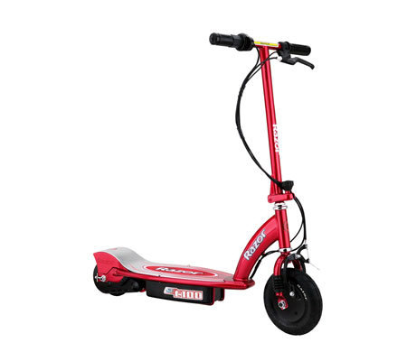 Razor E100 Electric Red Scooter