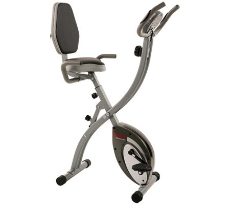 Sunny Health & Fitness Comfort XL Folding Recumbent Bike