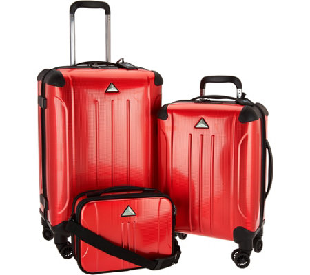 Triforce 3 Piece Spinner Luggage Collection - Apex