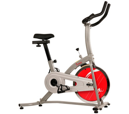 Sunny Health Fitness Indoor Cycling Bike Withlcd Monitor