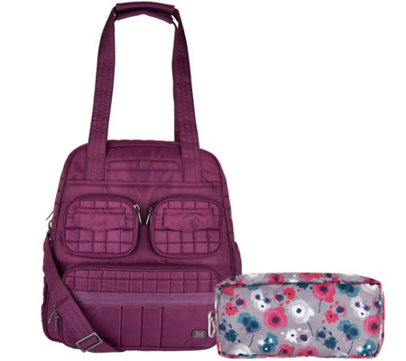 Lug Puddle Jumper Travel Bag with Packable Carry-All - Page 1 — QVC.com 53980105d2979