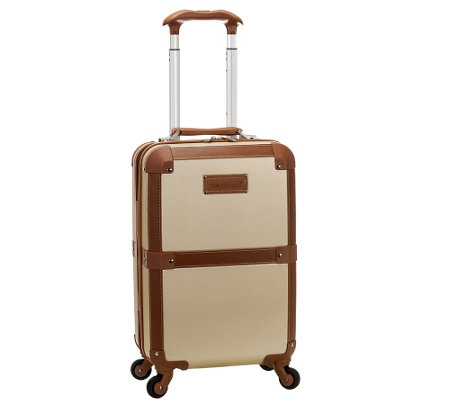 "Rockland Luggage Stage Coach 20"" Rolling Trunk"