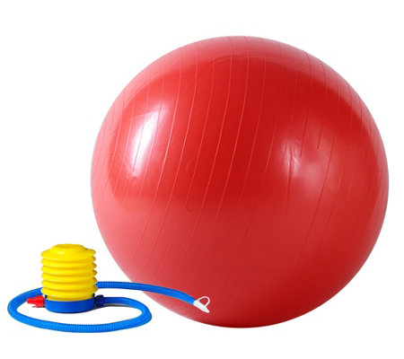 Sunny Health & Fitness Anti-Burst Gym Ball, 22""