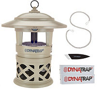 DynaTrap Decora Insect Trap for 1/2 Acre with 2 Extra Bulbs - F12572