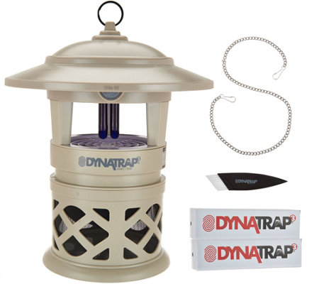 DynaTrap Decora Insect Trap for 1/2 Acre with 2 Extra Bulbs