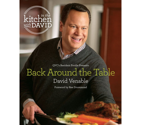 """Back Around the Table: In the Kitchen with David"" Cookbook"