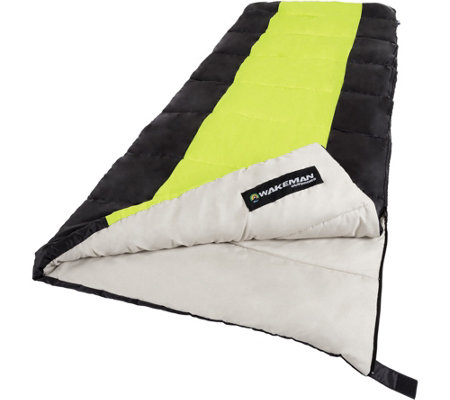 Wakeman Outdoors 2-Season Sleeping Bag with Carrying Bag