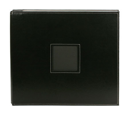 American Crafts Leather Postbound Album