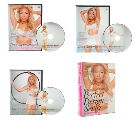 Tracy Anderson Perfect Design Series 3 DVD Set