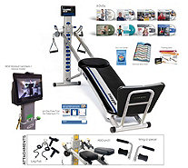 Total Gym FIT Select Seriesw/ XL Squat Stand Online Workouts and 8 DVDs - F13477