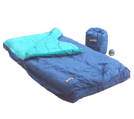 Aero Quick Inflate Air Mattress Sleeping Bag