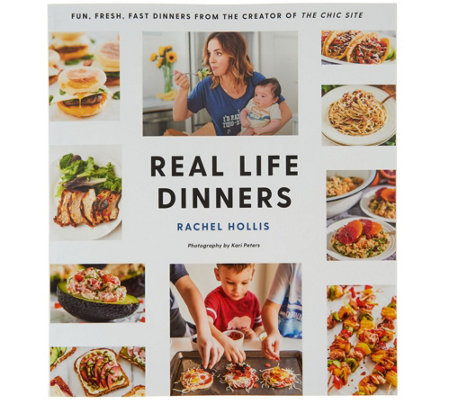 """Real Life Dinners"" Cookbook by Rachel Hollis"