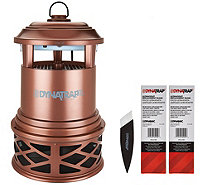 DynaTrap Decora Insect Trap for 1 Acre with 2 Extra Bulbs - F12579