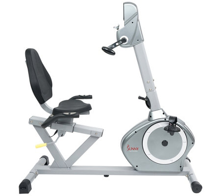 Sunny Health & Fitness Recumbent Bike with ArmExerciser
