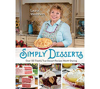 """Simply Desserts"" Cookbook by Laura Weathers - F13083"