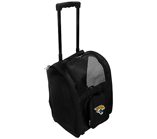 NFL Premium Pet Carrier Bag with Wheels