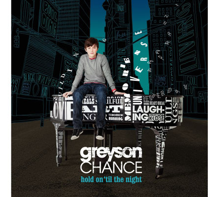 "Greyson Chance ""Hold On 'Til The Night"" 10 Track CD with Bonus DVD"