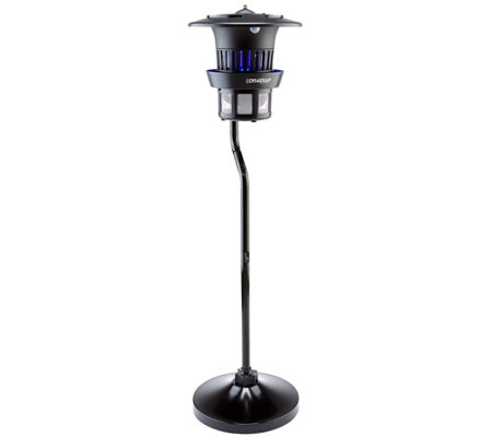 DynaTrap Insect Trap for 1/2 Acre with Pole & 2 Extra Bulbs