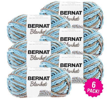 Bernat Blanket Multipack Of 6 Cottage Yarn