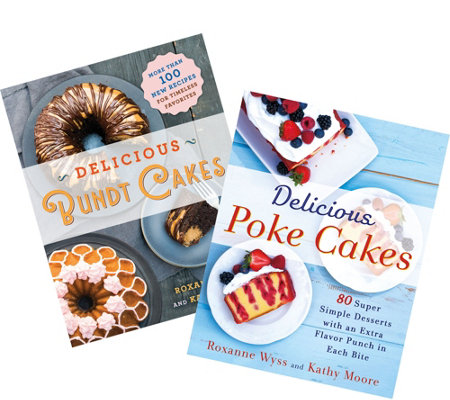 """Delicious Poke Cakes"" & ""Delicious Bundt Cakes"" Cookbooks"