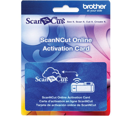 Brother ScanNCut Wireless Online Activation Card