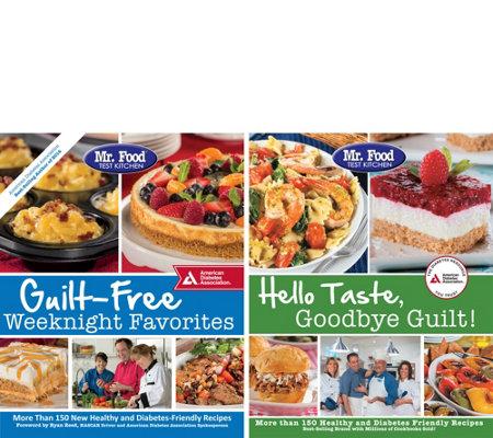 Mr Food Test Kitchen Set Of 2 Cookbooks By Ada Page 1 Qvc Com