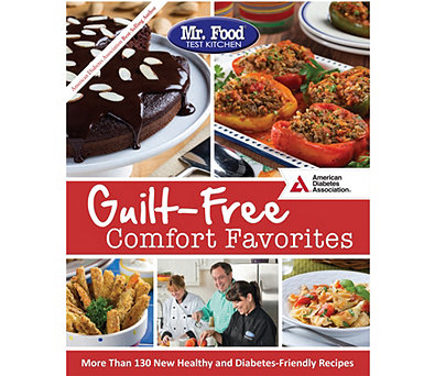 """Guilt-Free Comfort Favorites"" By Mr. Food Test Kitchen - F13292"