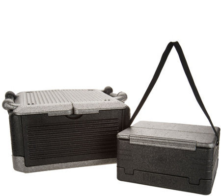 Flip-Box 2-Piece Large & Mini Hot/Cold Collapsible Insulation Box