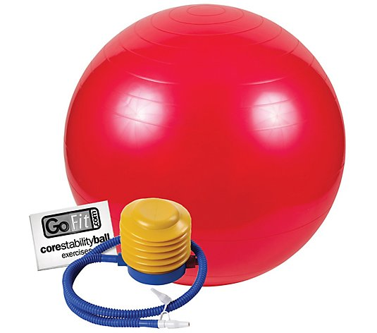 GoFit GF-55BALL 55cm Exercise Ball with Pump