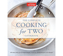 """The Complete Cooking for Two"" Cookbook by America's Test Kitchen - F13095"