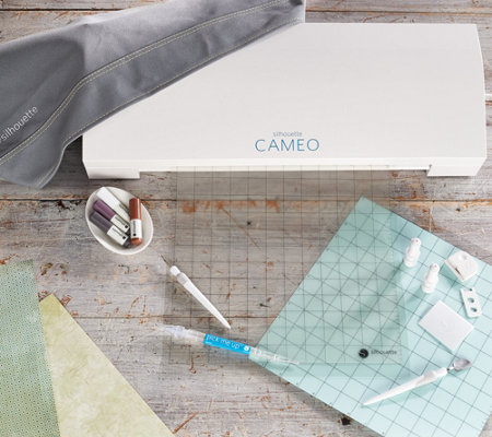 Silhouette Cameo3 Basics Bundle with Accessories