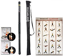 Bodyblade Fit & Flow Kit with 2 DVDs, Wall Chart & Carrying Bag - F12698