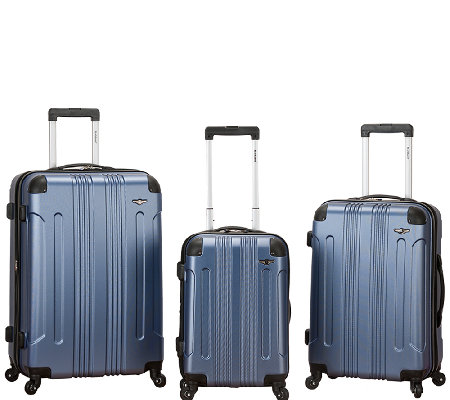 Fox Luggage 3pc Sonic ABS Upright Luggage Set