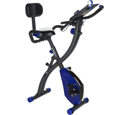 FITNATION Recumbent Flex Bike with Echelon App Experience