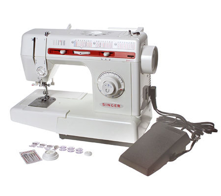 Singer Sewing Machine with 70 Stitch Functions — QVC.com