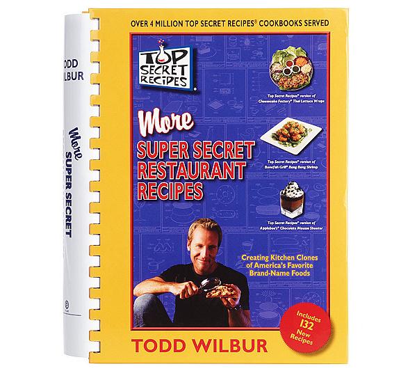 Top Secret Recipes More Super Secret Restaurant Recipes Page 1