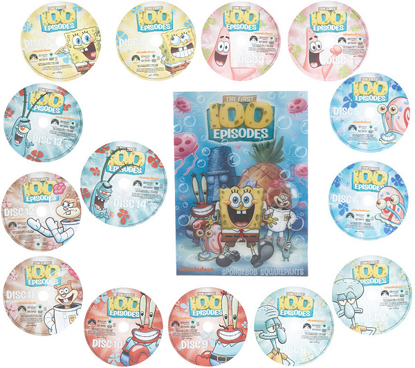 spongebob squarepants first 100 episodes dvd collection page 1