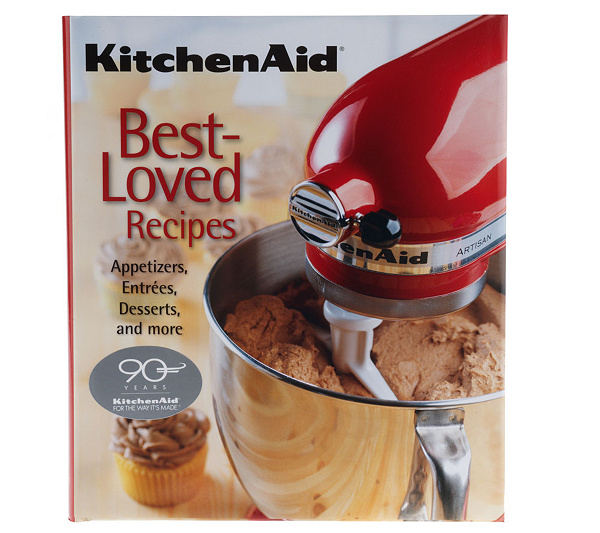 Kitchenaid best loved recipes cookbook page 1 qvc kitchenaid best loved recipes cookbook page 1 qvc forumfinder Image collections