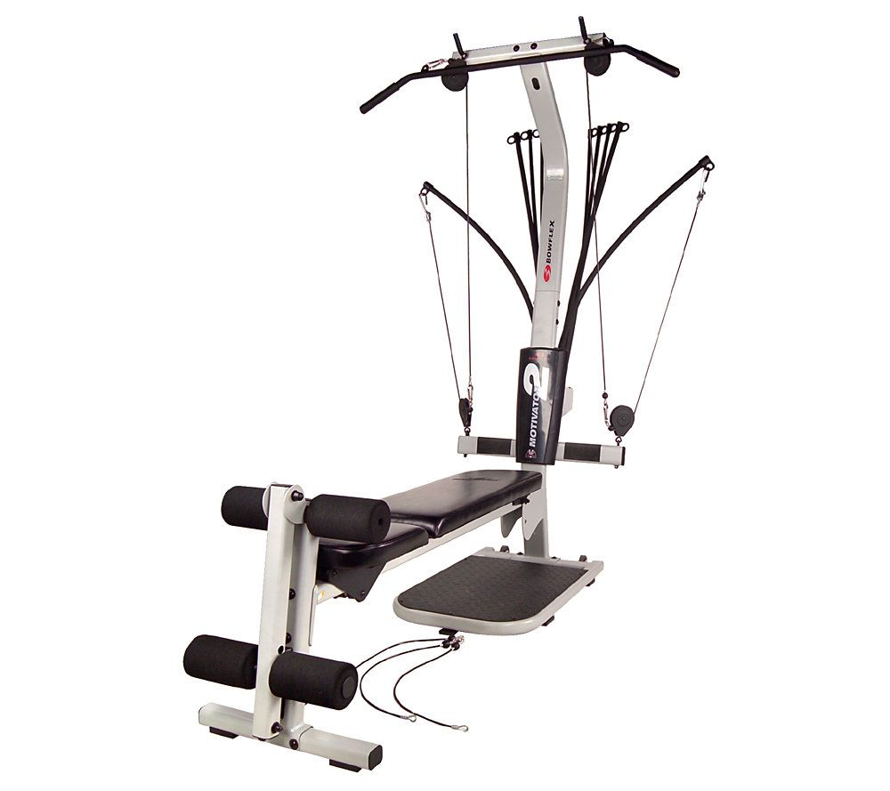 bowflex motivator 2 home gym w lat station leg attachment page 1 rh qvc com bowflex motivator 2 assembly manual Bowflex XTL Workout Guide