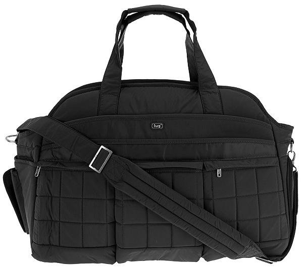 Lug Quilted Weekender Bag Airbus Page 1 Qvc