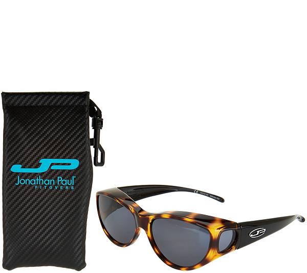 c2370e3413 Jonathan Paul Kitti Kat Fitover Sunglasses with Case - Page 1 — QVC ...