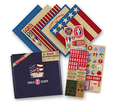 Eagle Scout 12 X 12 Scrapbook Kit From Kcompany Qvccom