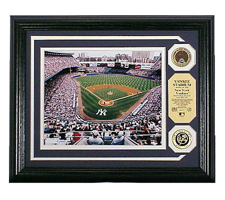Yankee Stadium Authentic Infield Dirt Photomint Qvc