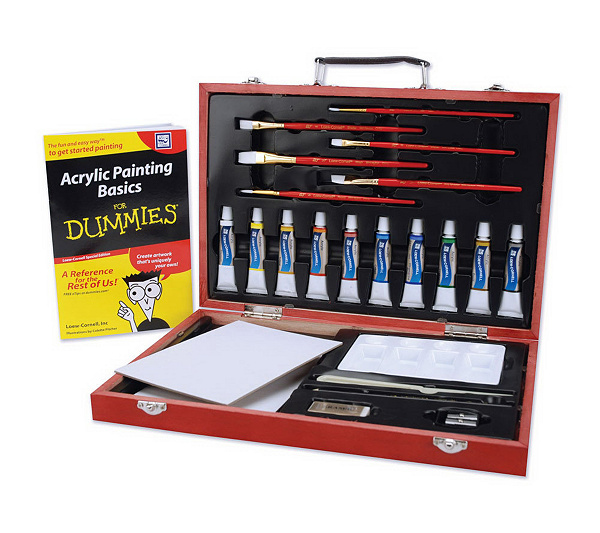 Watercolor Painting Kit For Dummies Qvc