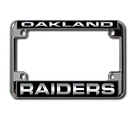 NFL Oakland Raiders Laser Motorcycle Frame — QVC.com