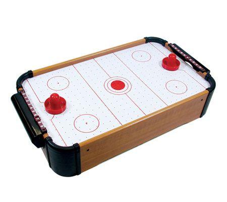 Excalibur XC1208MU10 Tabletop Air Hockey Game U2014 QVC.com