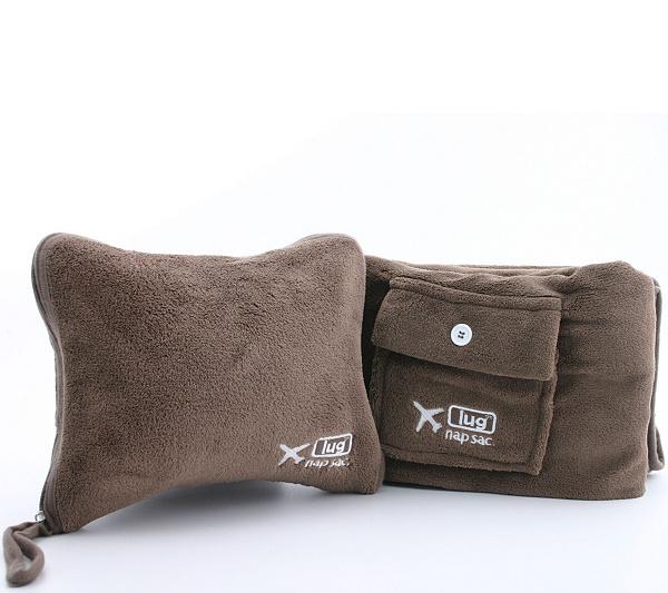 lug nap sac blanket pillow set page 1 qvc com